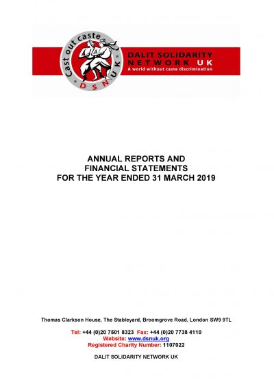 Annual Accounts 2018-2019